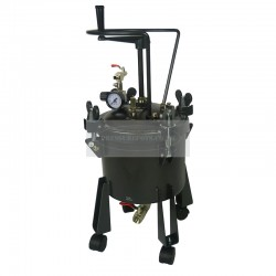 Pressure Tank 10 Litre Bottom Feed Manual Agitator