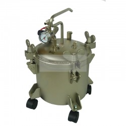 Paint Pressure Tank Stainless 10 Litre No Agitator