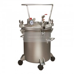 Paint Pressure Tank Stainless 20 Litre No Agitator
